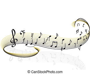 hudba, námět