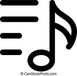 hudba, playlist