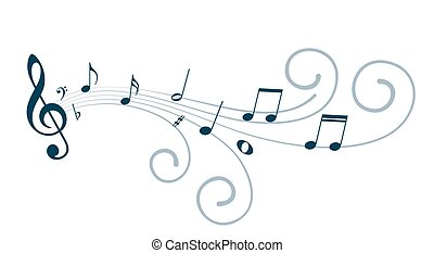 hudba, věnovat pozornost.