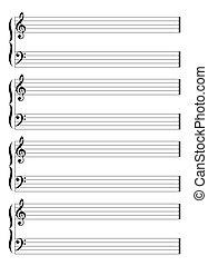 hudební, čini, hůl