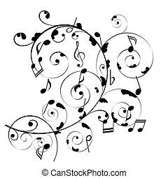 hudební zaregistrovat