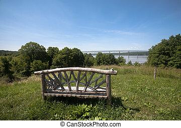 hudson rivière, vue