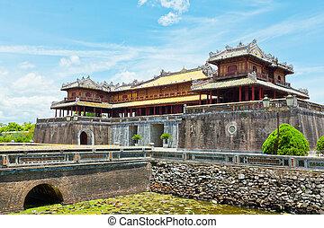 Hue Citadel - Citadel on the Northern bank of the Perfume...
