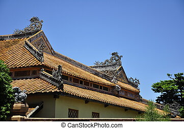 Hue Citadel Roof