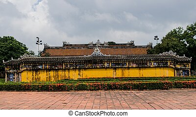 Hue - Forbidden City entrance gate