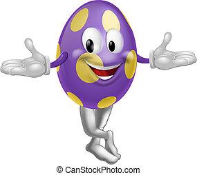 huevo de pascua, carácter