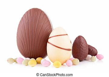 huevo de pascua, chocolate