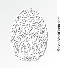 huevo de pascua, elemento del diseño