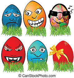 huevo de pascua, emociones, 2