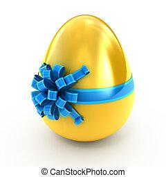 huevo dorado, cinta