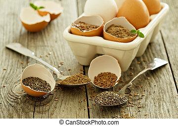 huevo, replacers, natural