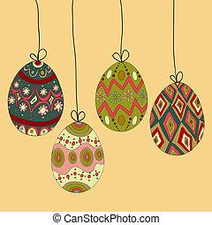 huevos, Pascua, ahorcadura