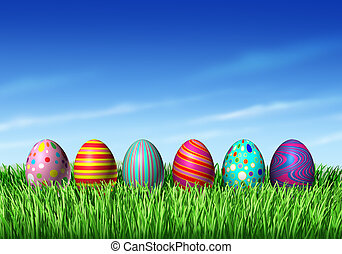 huevos, pascua