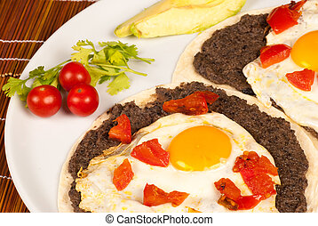 Huevos rancheros, a hearty Mexican egg breakfast