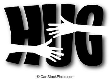 hug friendship love humanity