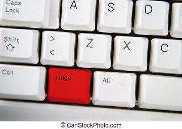 Hug Key