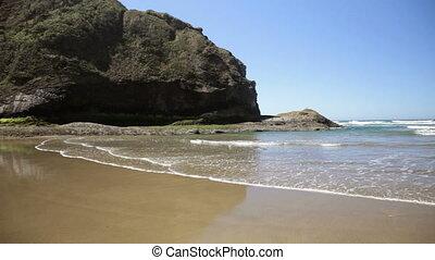 Hug Point, Oregon coast, where stagecoaches used the beach...