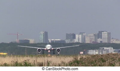 Huge airliner taking off - This is high quality plane...