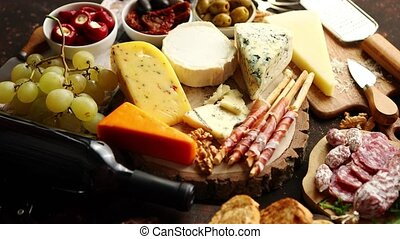 Huge assortment of various tasety spanish, french or italian...
