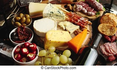 Huge assortment of various tasety spanish, french or italian...