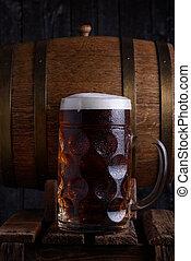 Huge beer mug