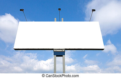 Huge billboard