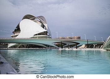 huge buildings in City of Art and Science Museum. - huge...