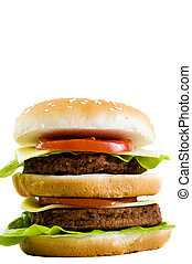 huge cheeseburger