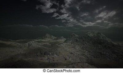 Huge Dark Clouds over Scottish Highlands - huge dark clouds...