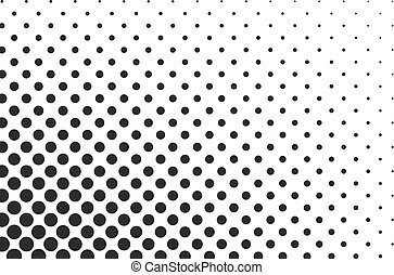 Huge dots halftone vector background. Overlay texture.