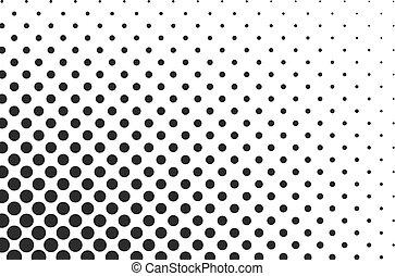Huge dots halftone vector background. Overlay texture.