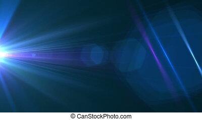 Huge Grunge Blue Flare 163