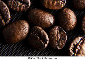 huge natural coffee beans