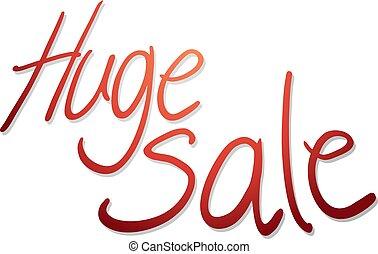 huge sale messagen