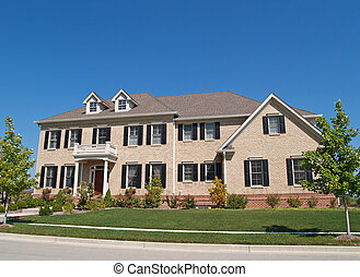 Huge Two Story Brick Home