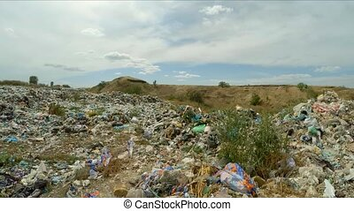 Huge Unauthorized Midden At Landfill In Ukraine - In the...