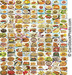 Huge variety of different dishes