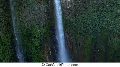 Huge Waterfall, Catarate Del Toro, Costa Rica - Native...