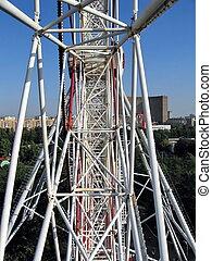 Huge wheel