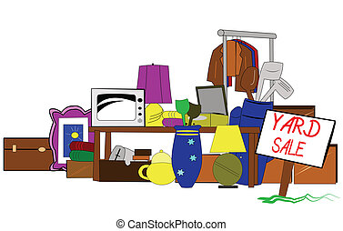 yard sale clip art - huge yard sale clip art with lots of...