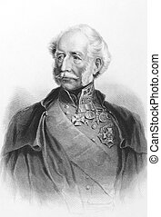 Hugh Gough, 1st Viscount Gough (1779-1869) on engraving from...