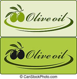 huile d'olive, étiquette