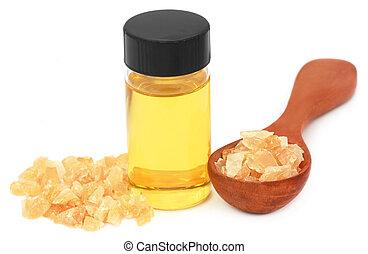 huile, encens, essentiel, dhoop