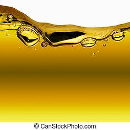 huile, fond