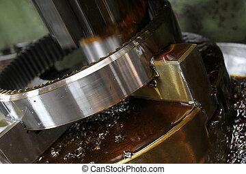 huile machine