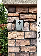 huis veiligheid, deurbel