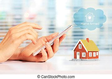 huis veiligheid, systeem