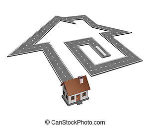 huis zoektocht