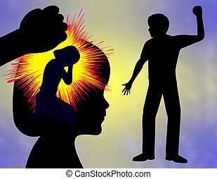 huiselijk geweld, trauma