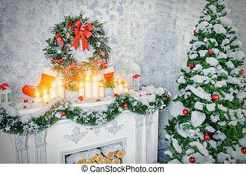 huiselijk, kerstmis